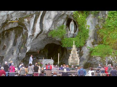 Chapelet du 9 août 2020 à Lourdes