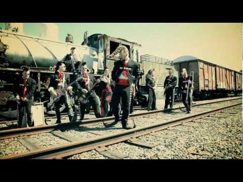 "Leningrad Cowboys - Making of ""Machine Gun Blues"" Music Video [HD]"