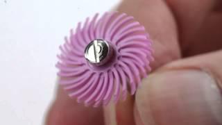 3M ScotchBrite Radial Bristle Discs Demo & Review In HD