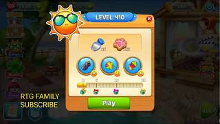 Lets play Meow match level 410 HARD LEVEL HD 1080P