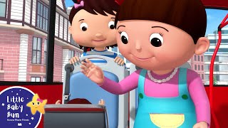 Baby On The Bus - Wheels On The Bus | BRAND NEW! | Nursery Rhymes & Kids Songs | Little Baby Bum