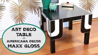 HOW TO: Art Deco Table Makeover - IKEA Hack