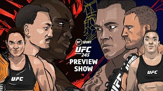 UFC 245 preview show: Usman vs Covington, Nunes vs de Randamie, Holloway vs Volkanovski | BT Sport