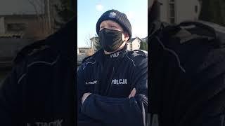 Polowanie Policji na ludzi bezpodstawne legitymowanie i karanie za brak maseczki na wolnym powietrzu