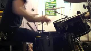 F Widigs - Dark Funeral - The End of Human Race (drum cover)