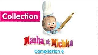 Masha et Michka - Сompilation 8 (20 minutes) 🔥 Dessins animés en Français 2017!