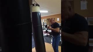 Локтионов Валерий тренирует двоечку