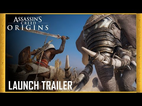 Assassin's Creed Origins: Launch Trailer | Legend of the Assassin | Ubisoft [US] thumbnail
