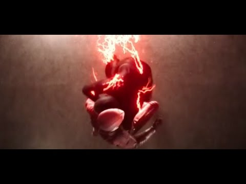 The Flash vs. Black Flash Zoom in speed force S03E16
