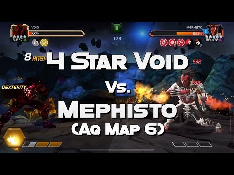 mcoc new map 6 mephisto mini boss solo - Brynden Rivers - Video