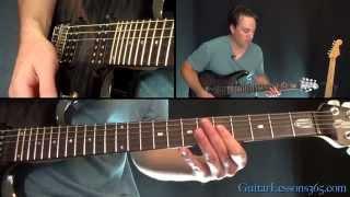 November Rain Outro Guitar Solo Lesson - Guns N' Roses - Slash