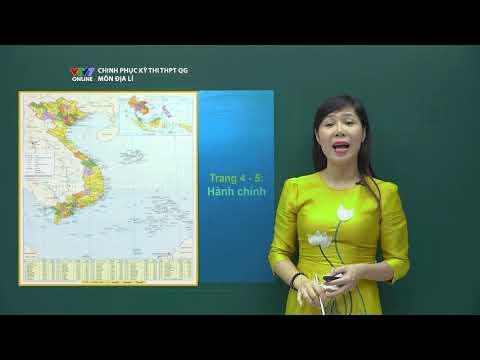 Hướng dẫn sử dụng Atlat Địa lý Việt Nam | Chinh phục kỳ thi THPTQG năm 2020 | Môn Địa lý - Số 1