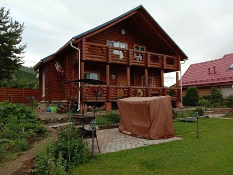 Бревенчатый дешевый 2 этажный дом СНТ Удача деревня Доршево Клин #АэНБИ #недвижимость