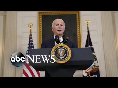Biden takes military action for the 1st time in office