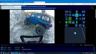 Sortie du TRX-4 d'Olivier avec RC Life, Un crawler FPV piloté par le site web