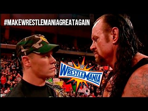 10 ideas para que WrestleMania 33 sea MEMORABLE