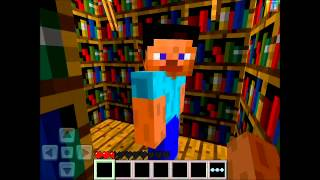 Minecraft Pocket Edition Cериал - Приключение Carambarass - 3 серия
