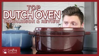 Best Dutch Ovens Buying Guide - Le Creuset Dutch Oven, Staub, & Combekk Review