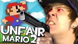 QUE ALGUIEN PARE ESTA LOCURA | Unfair Mario 2
