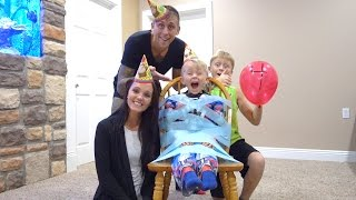 HIS CRAZY BIRTHDAY PARTY!!