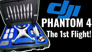 DJI Phantom 4   Unboxing and flying my New Drone!!!