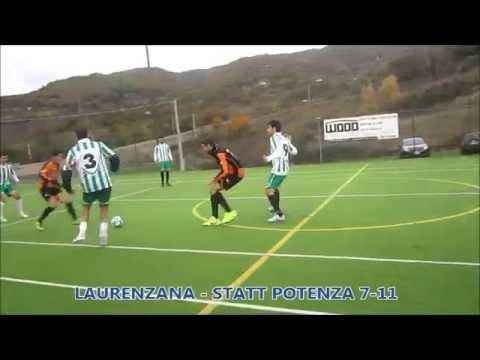 Preview video Video calcio a 5 Laurenzana-Statt Potenza 7-11 Serie D girone B 1 giornata Laurenzana 8 novembre 2014