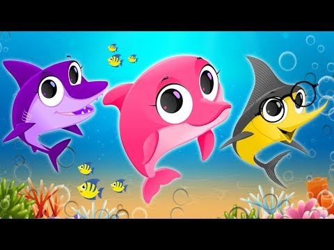 Baby Shark Dance Sing and Dance - Nursery Rhymes & Kids Songs for Children | Animal Songs for Kids