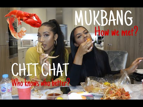 SEAFOOD BOIL | Girly chit chat, who knows who better, how we met!