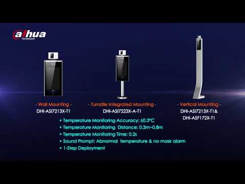 Dahua Access Control and Temperature Monitoring Solution