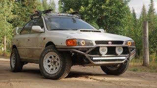 Subaru RS Custom Rally Bumper Build 4K