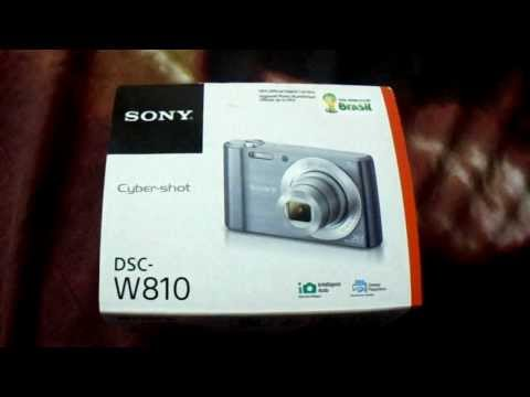 New Sony DSC W810 Digital Camera box look