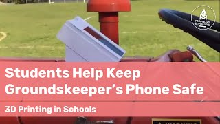 How Reynella PS Students Helped Their Groundsperson Keep His Phone Safe with 3D Printing