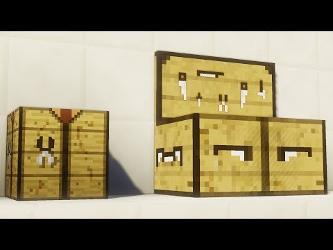 Video THE NEW MINECRAFT CRAFTING TABLE!! (New Crafting Recipes)