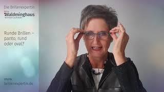 Brillen-Trend-Runde-Brille -2018- Video mit Trend-Kommentar von der Brillenexpertin