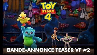 Toy Story 4 | Bande-annonce teaser VF #2 | Disney BE