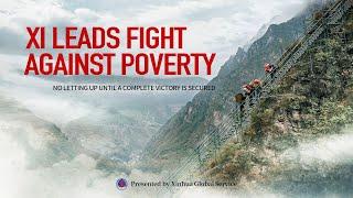 Xi walczy z ubóstwem.