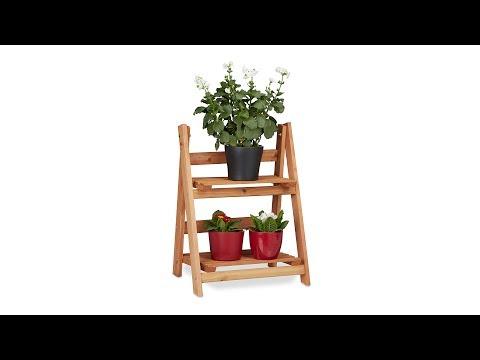 Blumentreppe Holz M