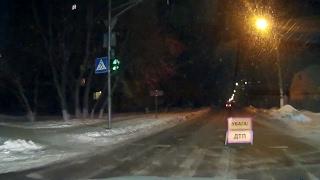 ДТП - Заблокована вся вулиця Лютнева м. Бориспіль 12 02 2017