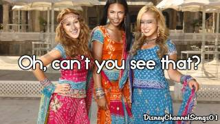 The Cheetah Girls - I'm The One With Lyrics