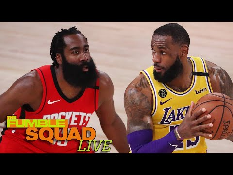 LeBron James' Shares His Thoughts On James Harden Being Traded To The Nets | Fumble Live