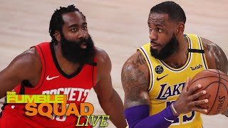 LeBron James' Shares His Thoughts On James Harden Being Traded To The Nets | Fumble Live by Obsev Sports
