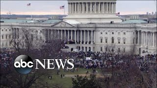 Protesters storm US Capitol