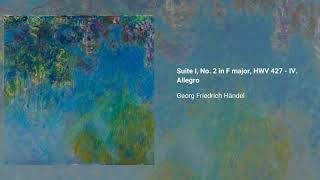 Keyboard Suite in F major, HWV 427