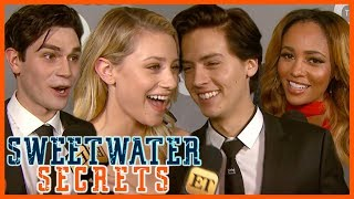 'Riverdale' Cast Spills Their Hisses & Kisses For Season 2 | Sweetwater Secrets - Video Youtube
