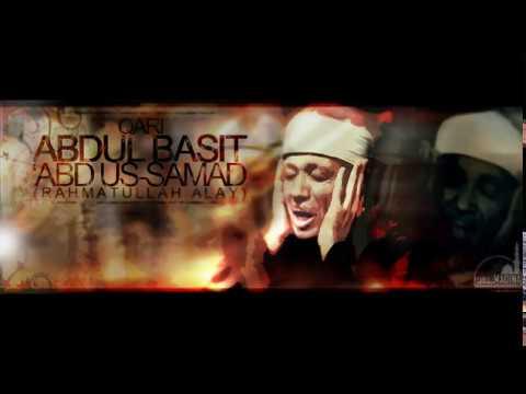 Qari Abdul Basit - Breathtaking recitation (سورة الكهف 107-108)
