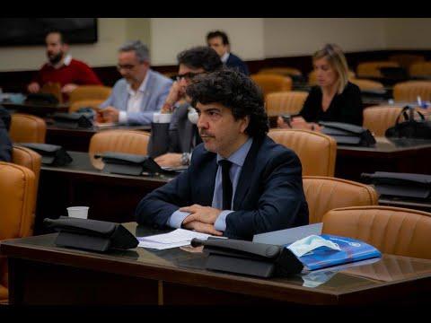 Intervención de Mario Garcés en la Comisión de Hacienda del Congreso