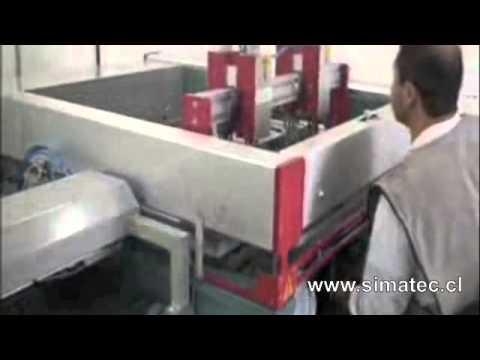 Impresora serigráfica IMAH semi-automática (automática 3/4)
