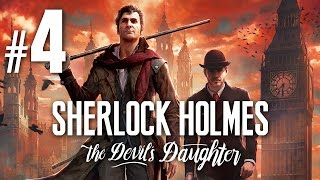 SHERLOCK HOLMES: THE DEVIL'S DAUGHTER #4 - Durchs Schlüsselloch - German / Deutsch