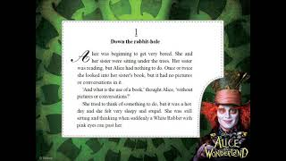 AUDIO BOOK -Alice in Wonderland-improve your listening and reading