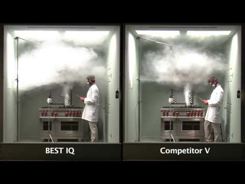 SMOKE ELIMINATION TEST : BEST iQ VS COMPETITOR V